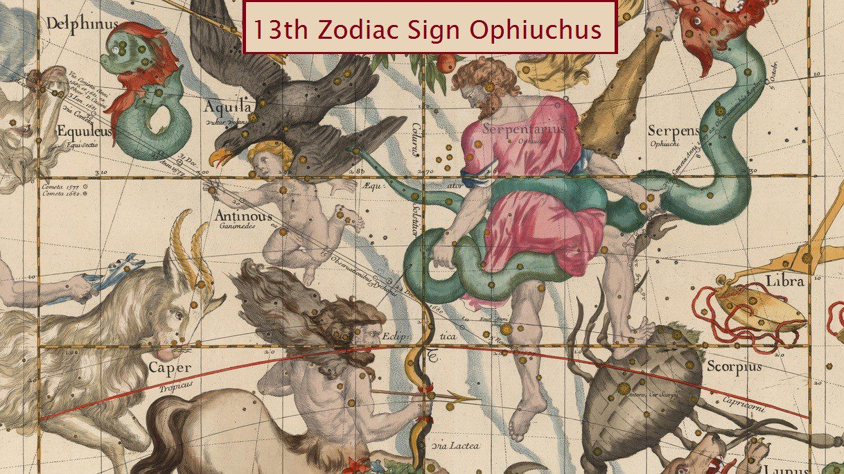 13th Zodiac Sign Ophiuchus