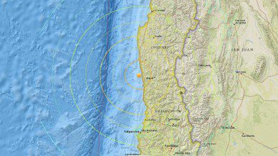Chile Earthquake and Tsunami September 2015