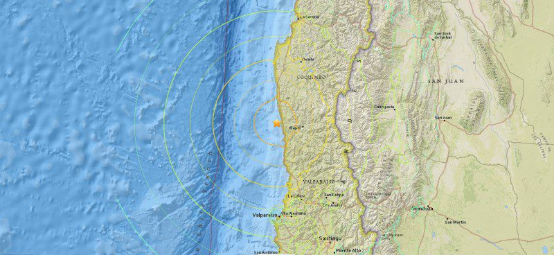 Chile Earthquake September 2015