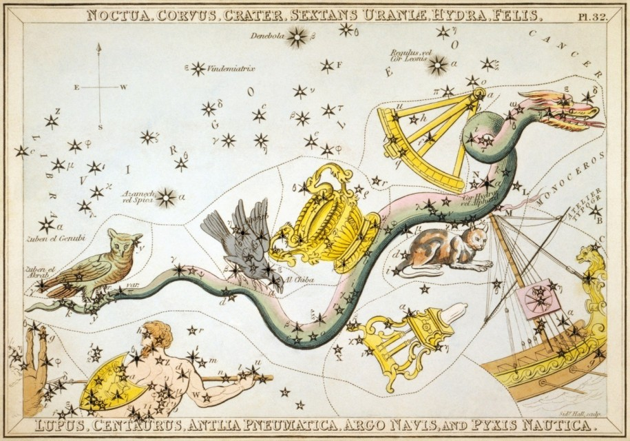 Constellation Crater Astrology