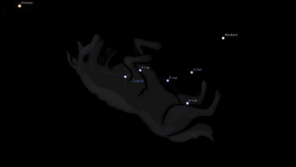 Constellation Lupus Astrology