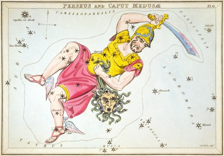 Constellation Perseus Astrology