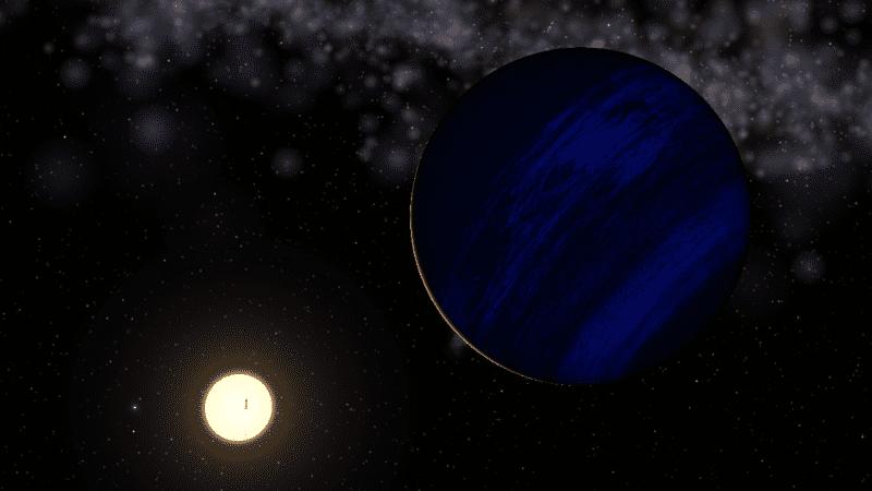 Exoplanet Epsilon Tauri b