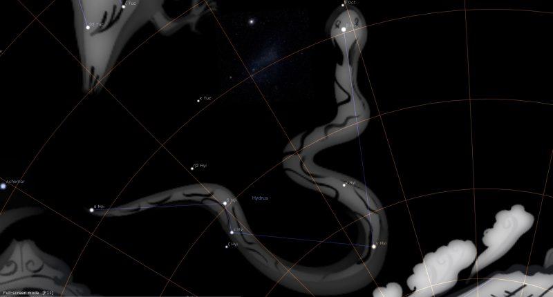 Hydrus Constellation Astrology