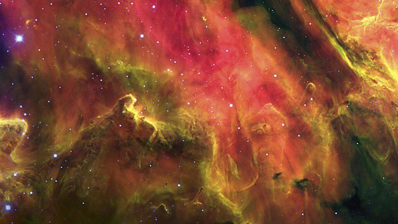 Lagoon Nebula, Spiculum Star