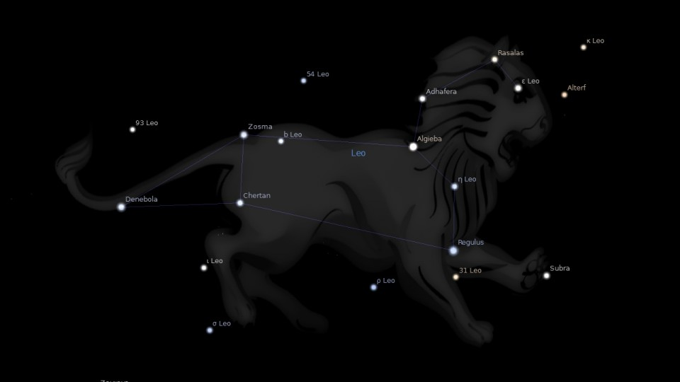 Constellation Leo Astrology