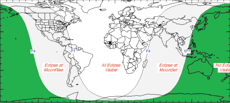 Lunar Eclipse February 2017 Visibility
