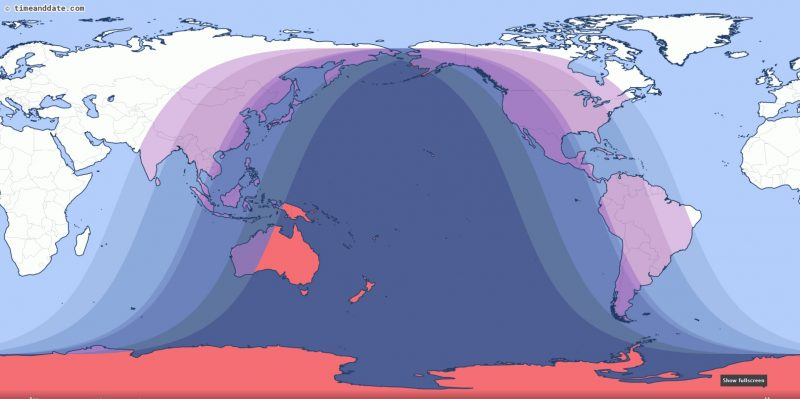 Lunar Eclipse May 2021 Visibility