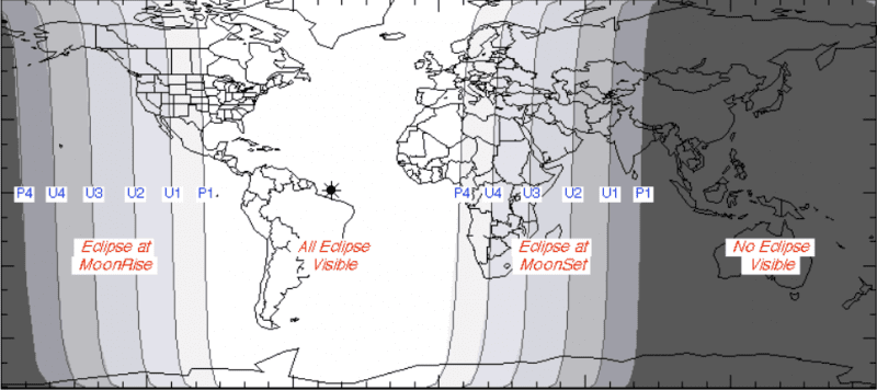 Lunar Eclipse September 2015 Visibility
