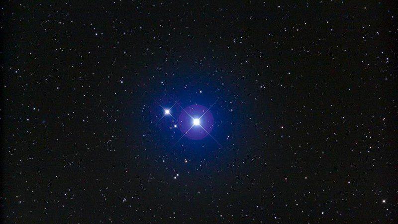 Mizar Star Zeta Ursae Majoris