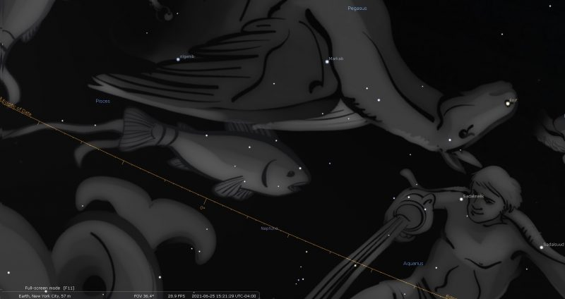 Neptune Retrograde June 2021