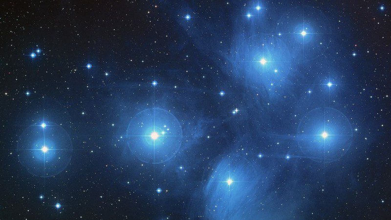Fixed Star Alcyone Star Pleiades Star Cluster Astrology
