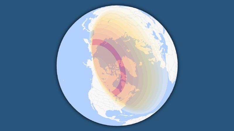 Solar Eclipse June 2021 Visibility